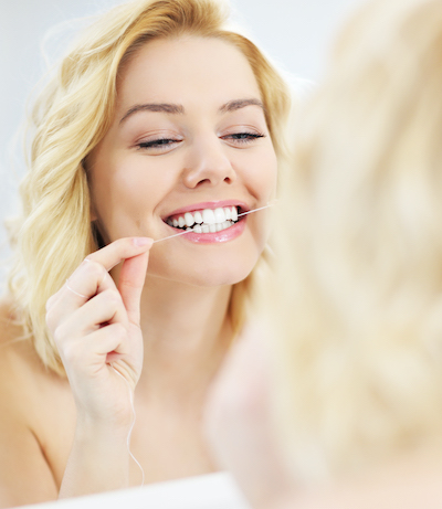 Tooth Loss Prevention Tip - Flossing